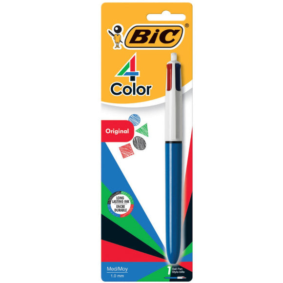 Bic 4 Color Retractable Pen (1 pack) MMXP11C