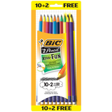 Bic Xtra Fun #2 Pre sharpened Pencil (12 pack) PGEP10