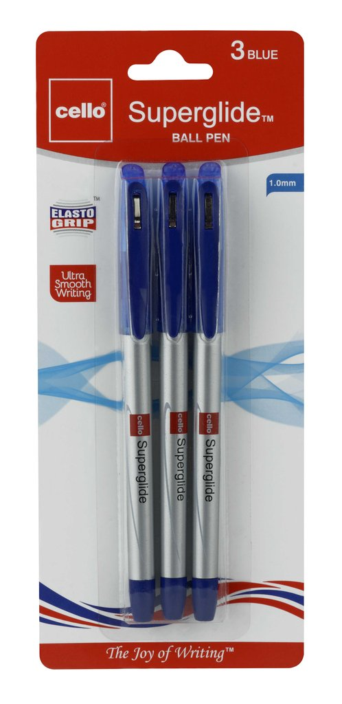 Cello Superglide Pen blue (18 pens) (A-16)