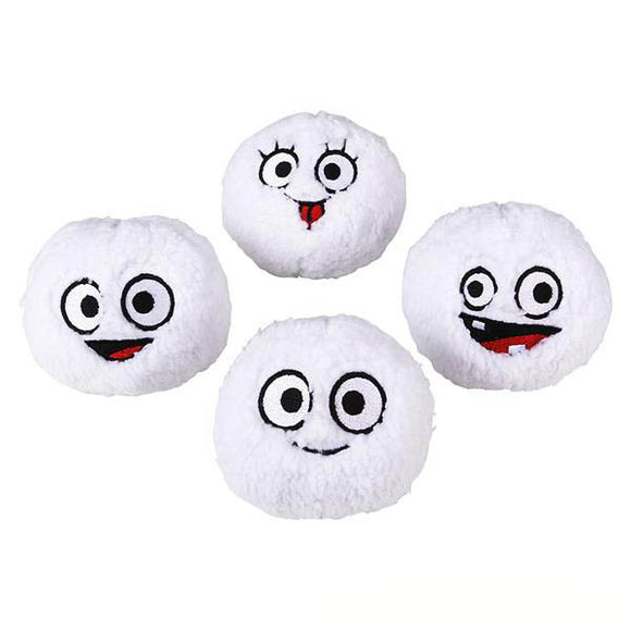 Plush Smile Snowball (12/unit) #90948