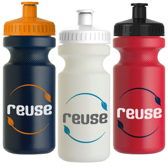 Custom Imprint Recycled Bike Bottle, ASWB21