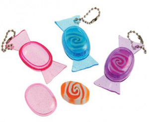 Candy Eraser Zipper Pull,  #196