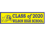 Custom Bumper Sticker w/Removable Adhesive, Large (125/minimum), AS402