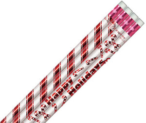 Mint Scented Candy Cane Pencils, #891