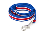 Leash Blue/Red Stripe