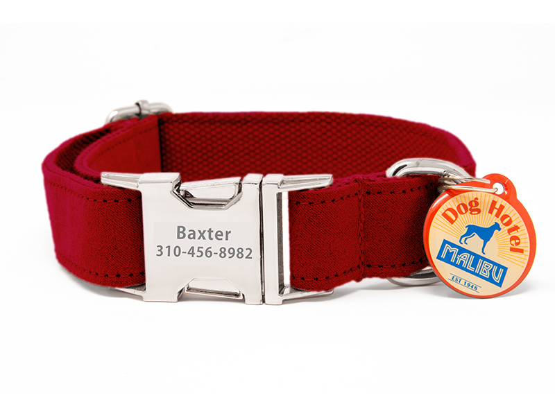 Custom Collar Red