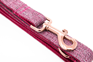 Leash Pink Tweed