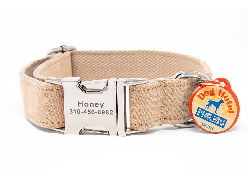 Custom Collar Beige