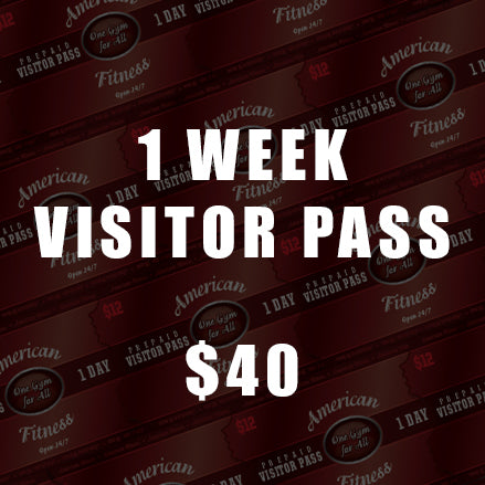 Weekly Visitor's Pass