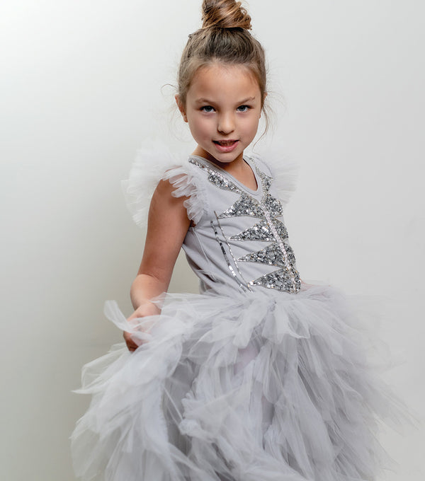 Bling Long Tutu Dress
