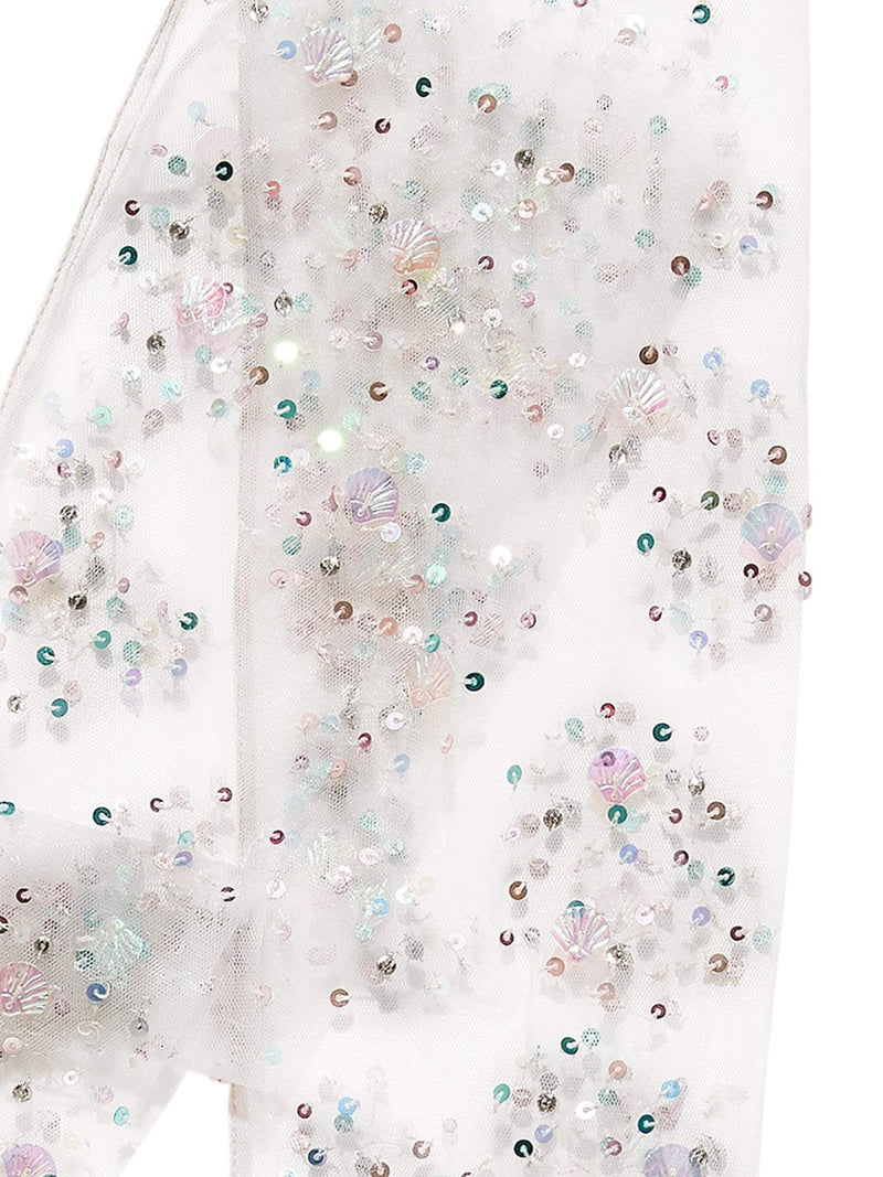 Crystal Waters Tulle Leggings