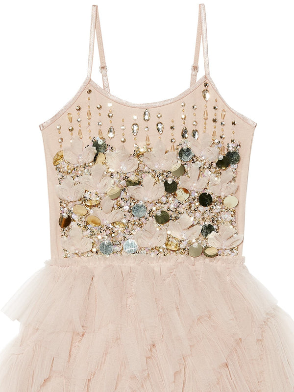 Golden Glow Tutu Dress