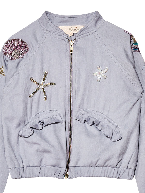 Mermaid Melody Bomber Jacket