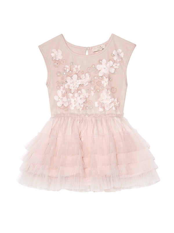 Bébé - Shimmering Petals Tutu Dress
