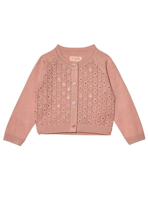 Bébé Crystal Clear Cardigan