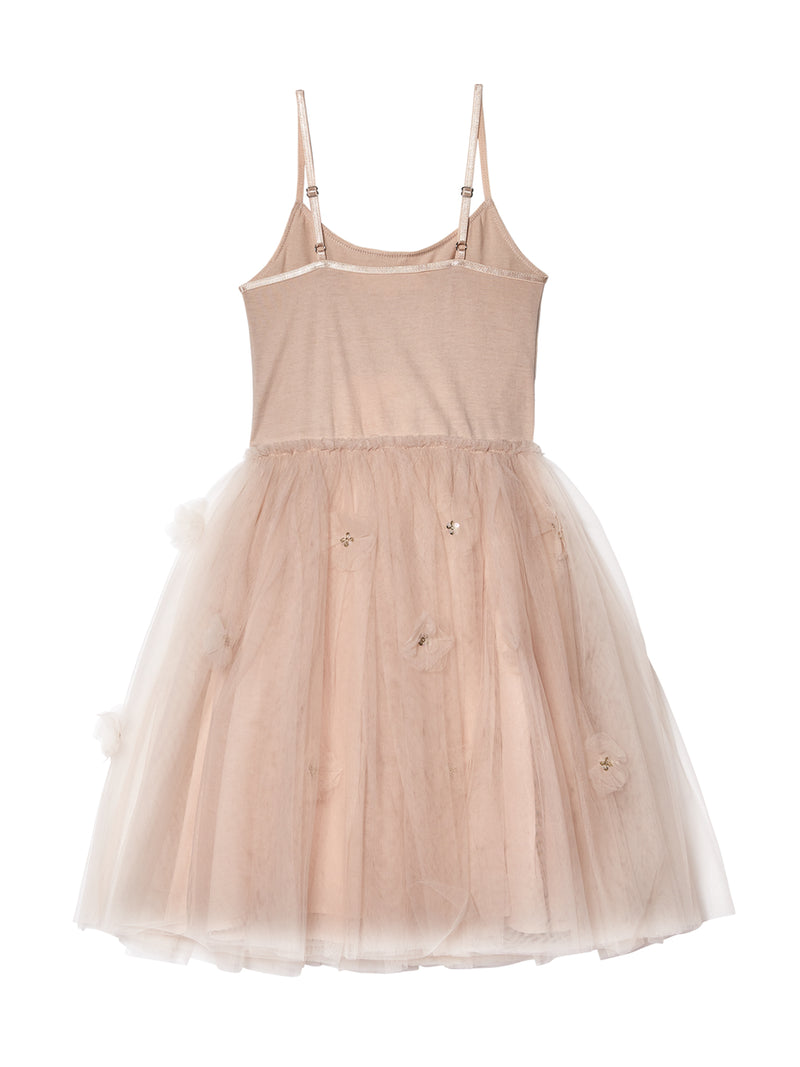Glowing Petal Tutu Dress
