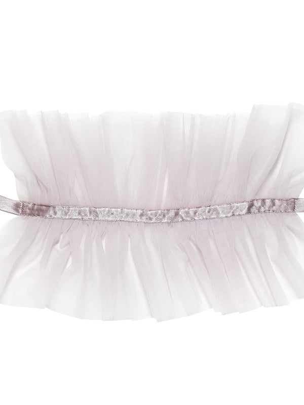 Regal Ruffle Collar