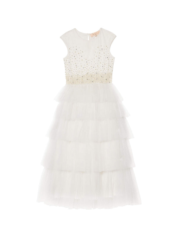 Pearled Dreams Tutu Dress