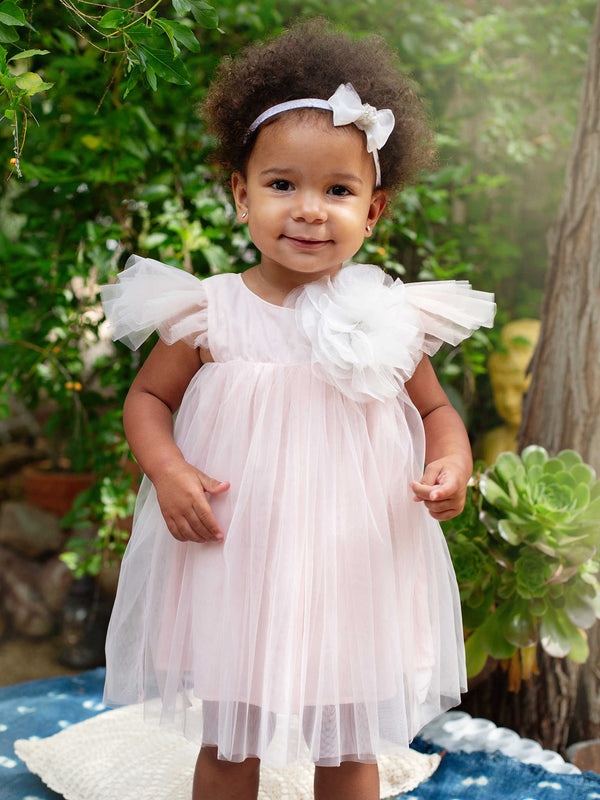 Bébé Gardenia Tulle Dress