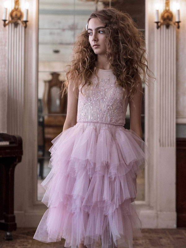 Bejewelled Frills Tutu Dress