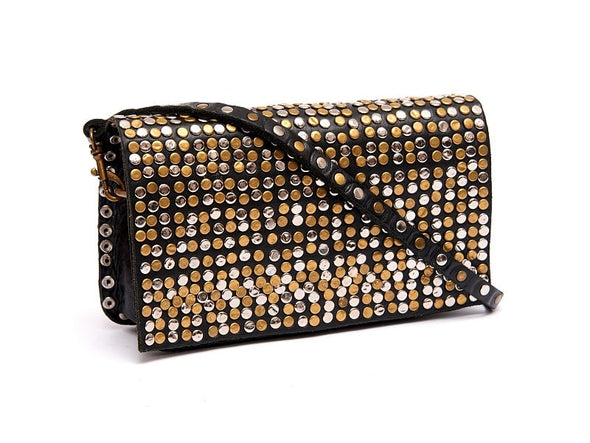 Rockstar Clutch Bag - handmade leather bags smadlondon