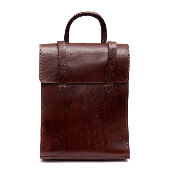 Bowie Backpack - Chocolate-ISMAD LONDON