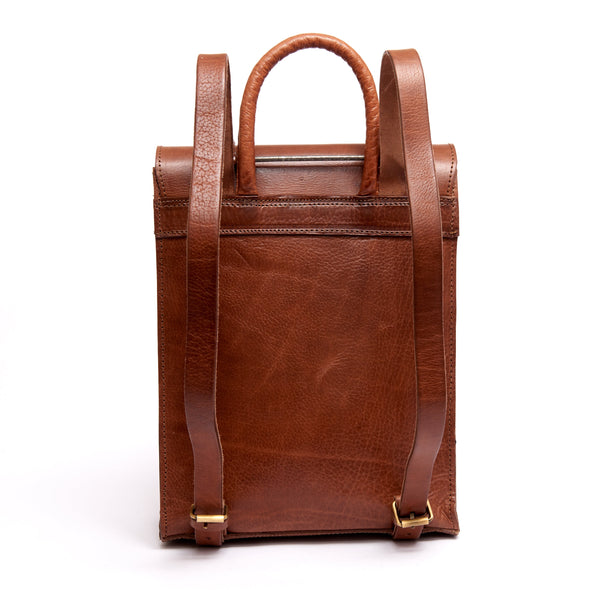 Bowie Backpack - Tan-ISMAD LONDON