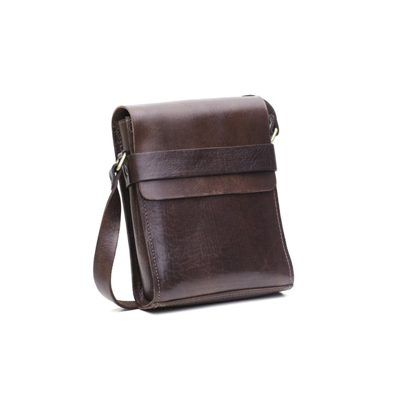 City Bag - Chocolate-ISMAD LONDON