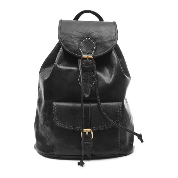 Large Sac a Dos Backpack - Black-ISMAD LONDON