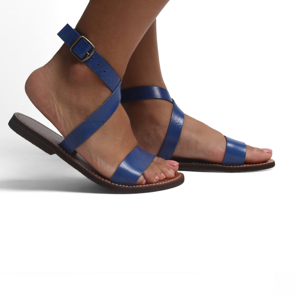Wrap Leather Sandals-ISMAD LONDON