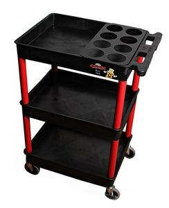 Professional Detailing Cart with Bottle Organizer