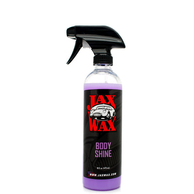 Jax Wax Body Shine Detail Spray 16 Oz.