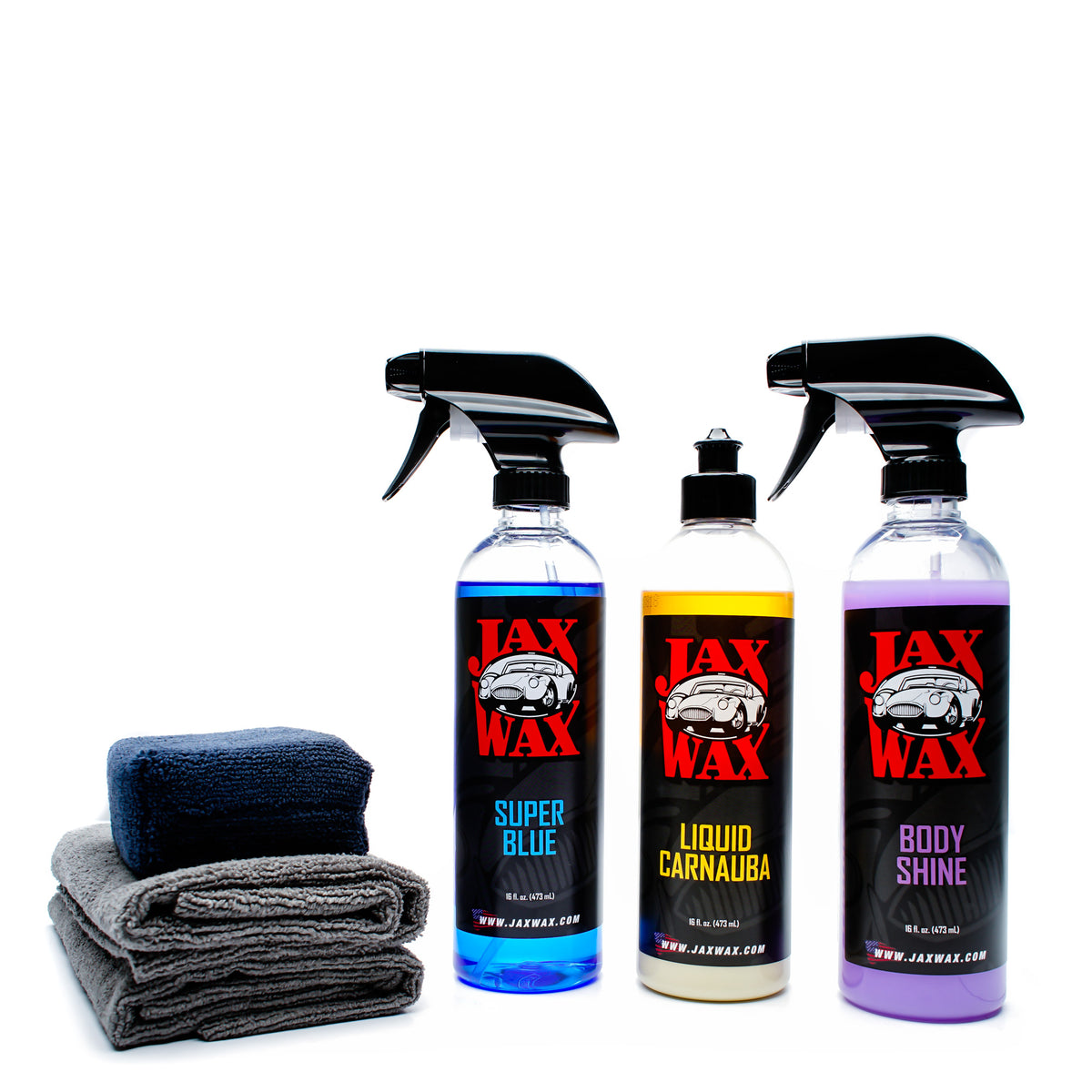 Jax Wax Exterior Detail Car Care Kit 16 Oz