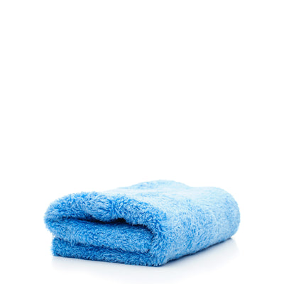 Double Plush Edgeless Microfiber Towel (Blue)