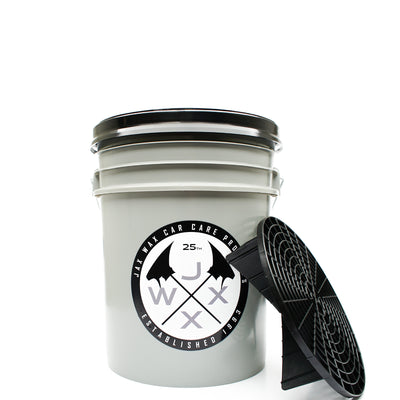 Jax Wax Black Limited Edition Wash Bucket w/ Grit Guard & Gamma Seal