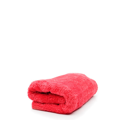 Double Plush Edgeless Microfiber Towel (Red)