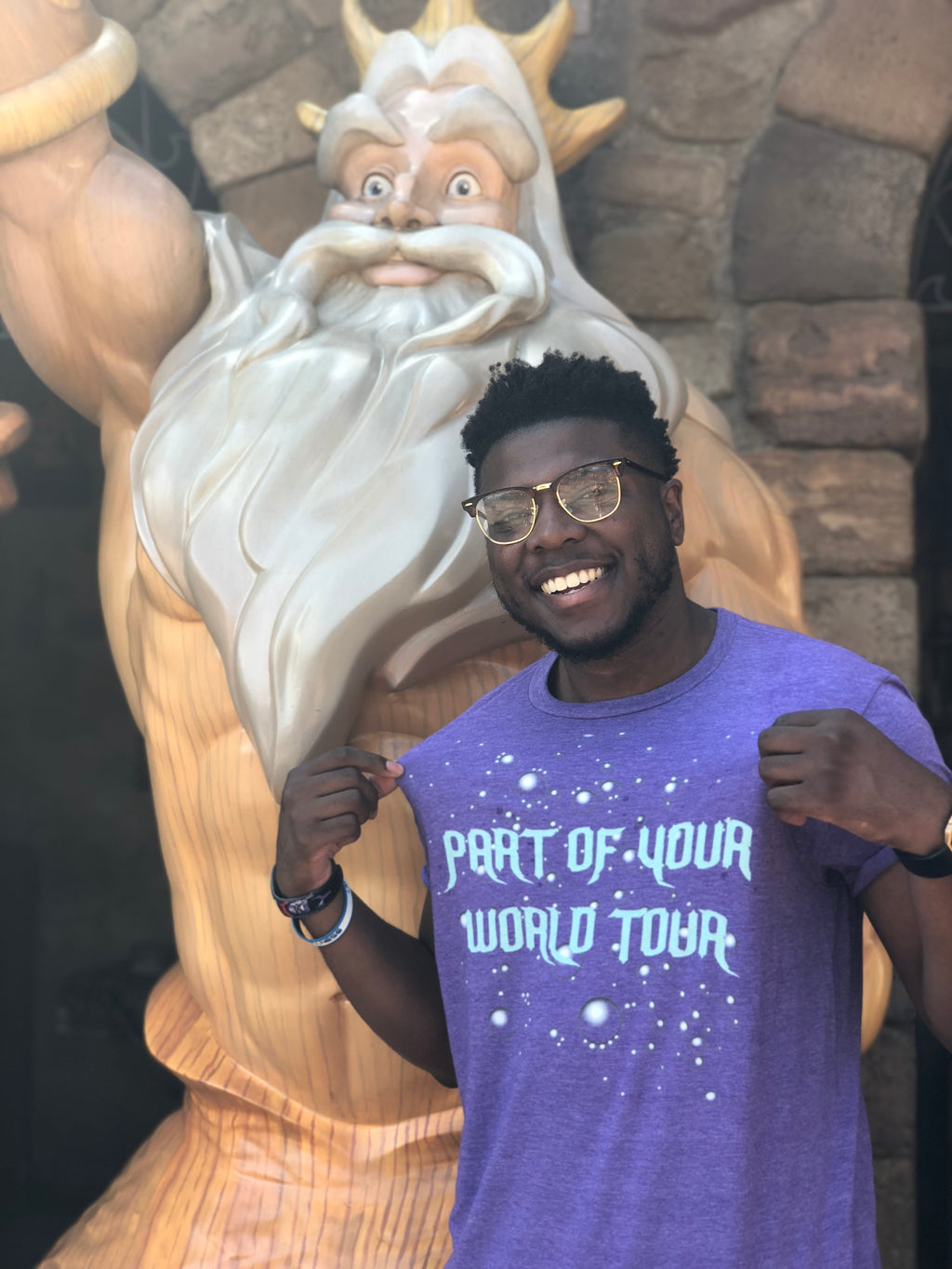 Part of Your World Tour Tee
