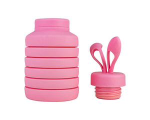 Cute Rabbit Styled Folding Water Bottle
