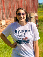 Load image into Gallery viewer, Happy Fall Pumpkin Truck Tee