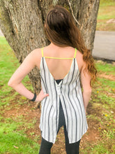 Load image into Gallery viewer, Brighter Days Neon Stripe Tank