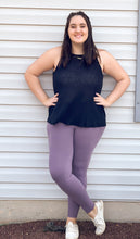 Load image into Gallery viewer, Buttery Soft Leggings With Pockets in Frosted Mulberry