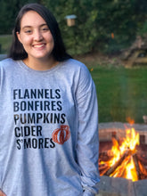 Load image into Gallery viewer, Fall Favorites Long Sleeve Tee