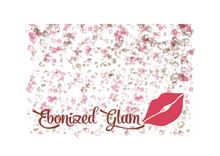 Load image into Gallery viewer, Ebonized Glam Greeting Card-Glitter (single greeting card)