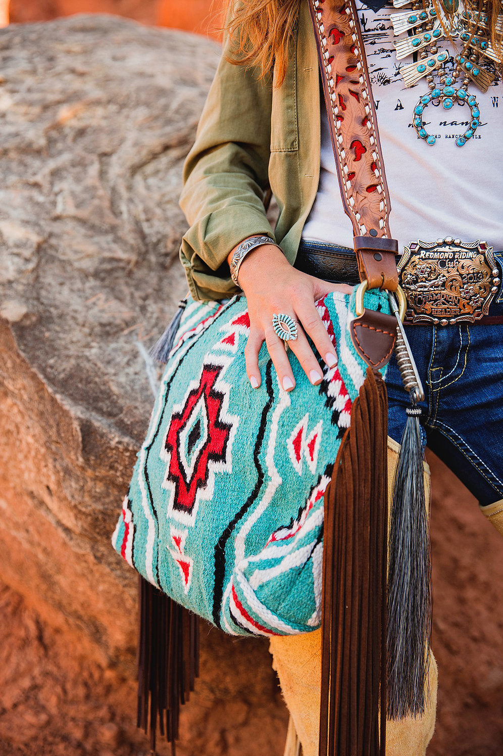 Carico Lake Saddleblanket  Bag