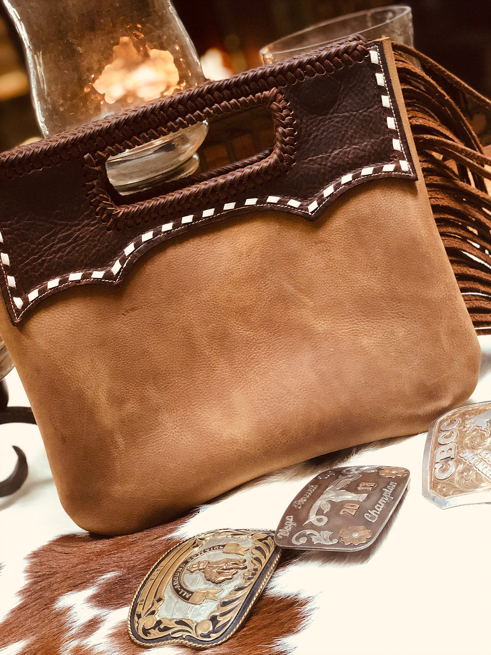 Chisholm Leather Handbag