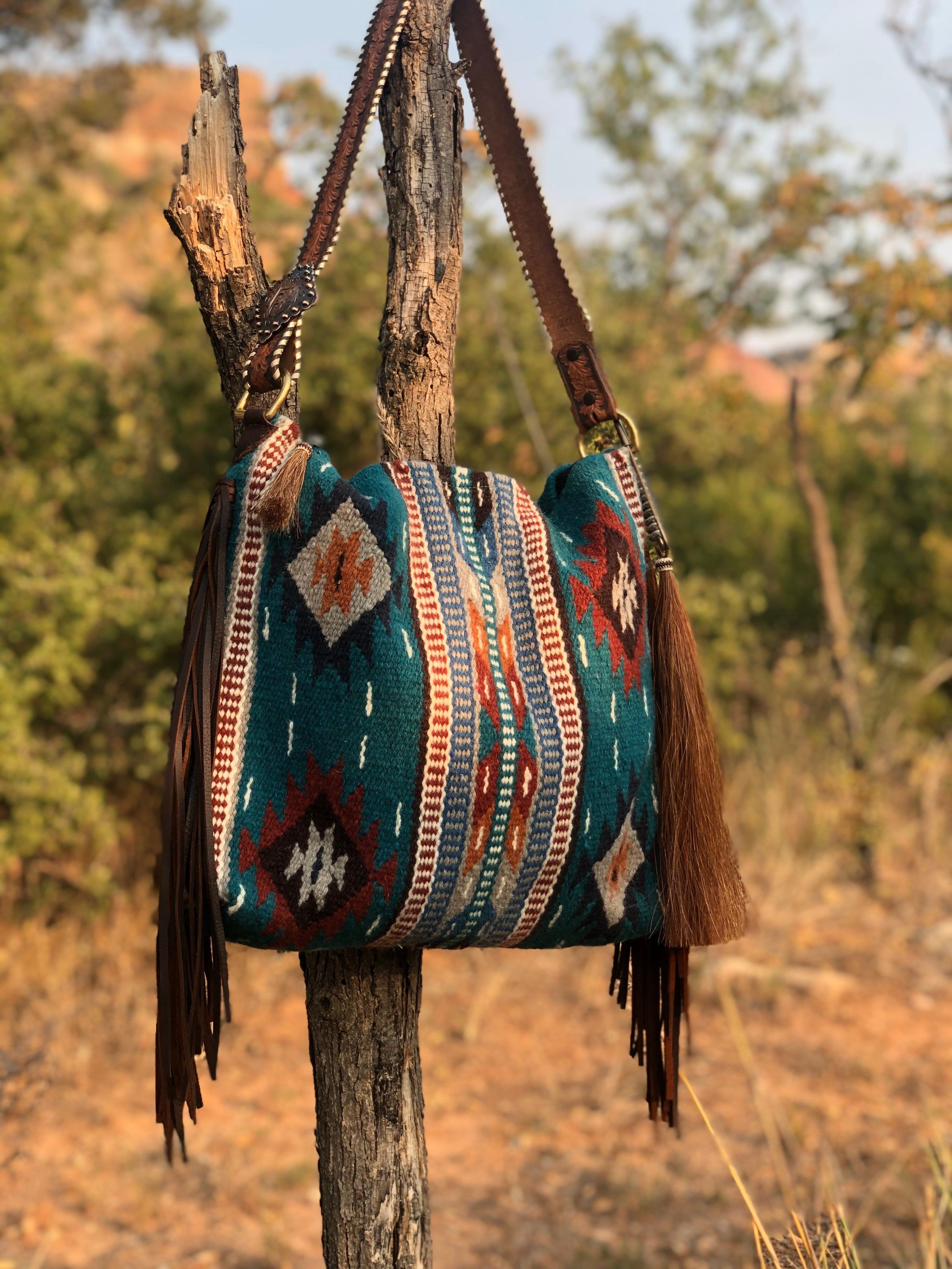 Ranch Water Saddleblanket Tote
