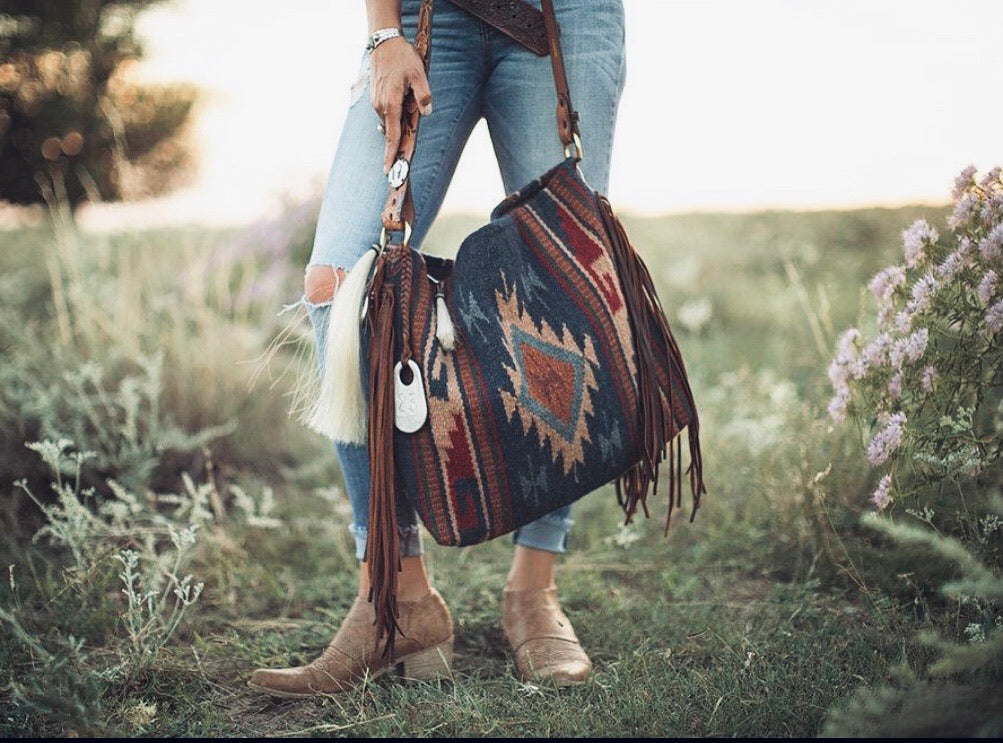 Comanche Moon Saddleblanket Tote