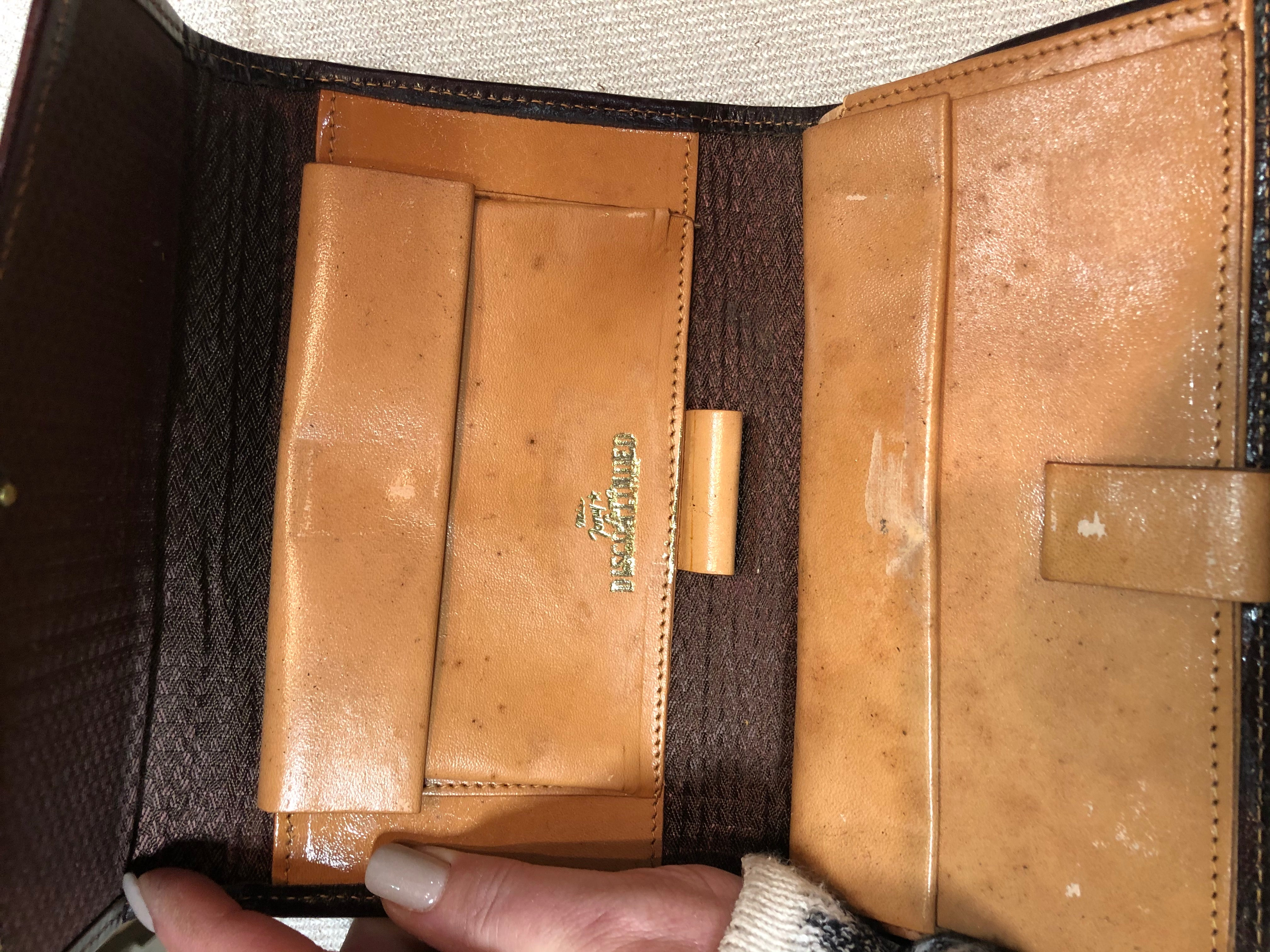 Butch Cassidy and Sundance Vintage Wallet