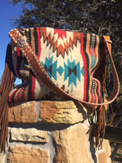 Medicine Bag Saddleblanket Tote