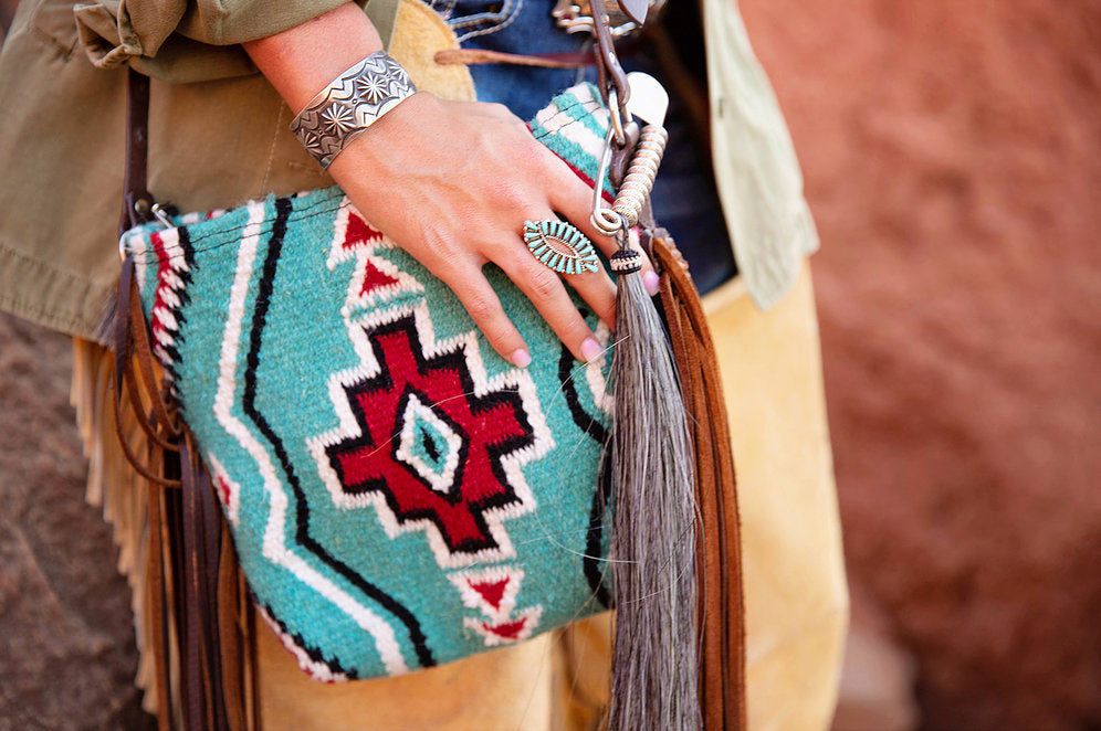 Mini Carico Lake Saddleblanket Crossbody
